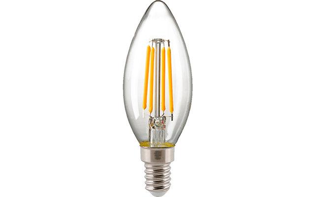 Sigor Filament LED Kerzenlampe dimmbar klar E14 230 V / 2,5 W 250 lm