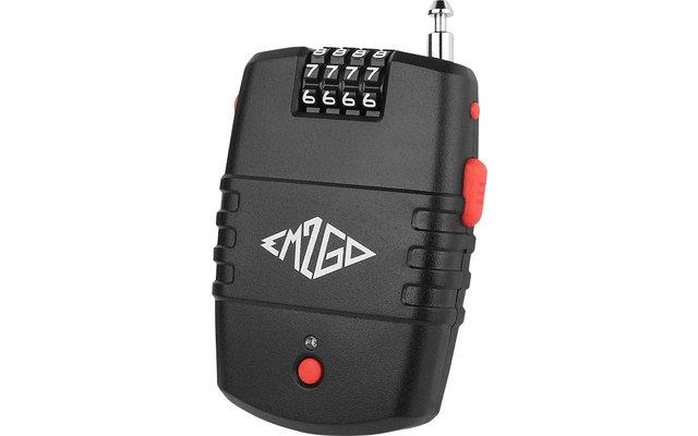 EM2GO Kombinations-Kabelschloss mit Alarmfunktion