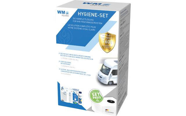 WM aquatec Hygiene-Set Wasserhygiene Komplettset 160 Liter