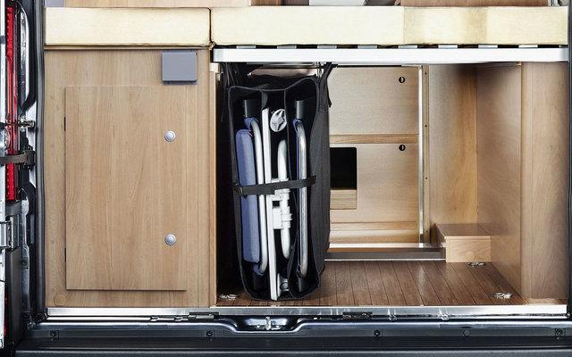 CampSleep Zoombox vertikales Staufach für Heckbett 110 x 25 x 65 cm