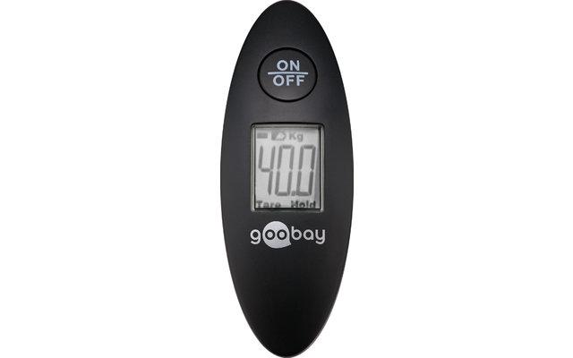 Goobay digitale Vielzweckwaage mit LCD-Anzeige