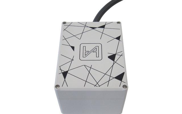 Campernet Yachtantenne WiFi / LTE Dachantenne und Router Komplettset - Kabeldurchführung seitlich