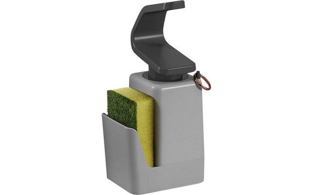 Metaltex Soap Tex Seifenspender inkl. Schwamm und Ringhalter 400 ml
