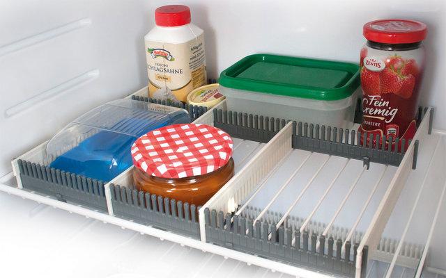 Purvario by Dörr Stauleiste für Kühlschränke 8er Set anthrazit / hellgrau