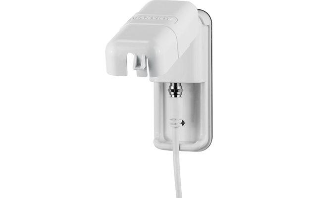 Maxview Sat-Außensteckdose Single F-Anschluss Weiß