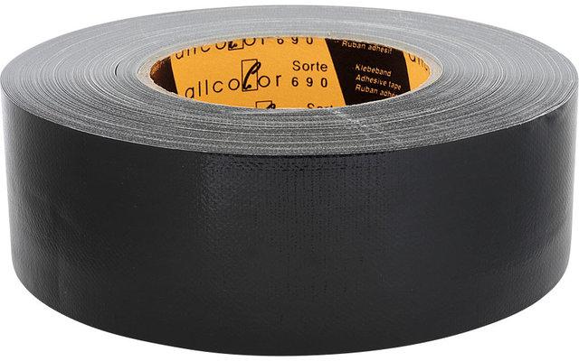 Allcolor Gewebeklebeband 50 m schwarz