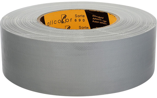Allcolor Gewebeklebeband 50 m silber