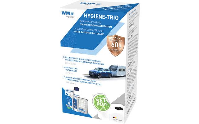 WM aquatec Hygiene-Trio Wasserhygiene Komplettset 60 Liter