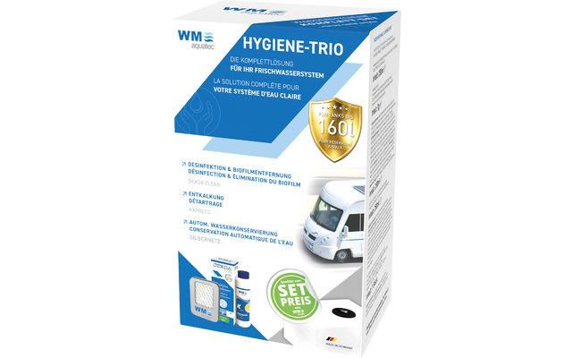 WM aquatec Hygiene-Trio Wasserhygiene Komplettset 160 Liter
