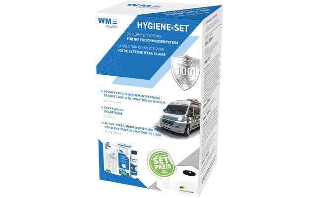 WM aquatec Hygiene-Set Wasserhygiene Komplettset 100 Liter