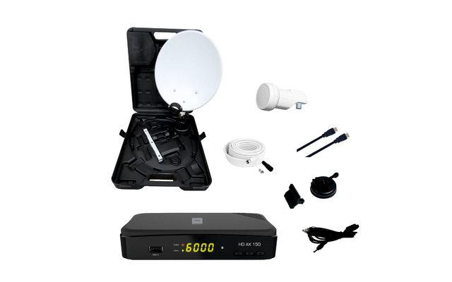 Opticum Camping-Koffer Set AX150 Sat-Anlage inkl. Receiver