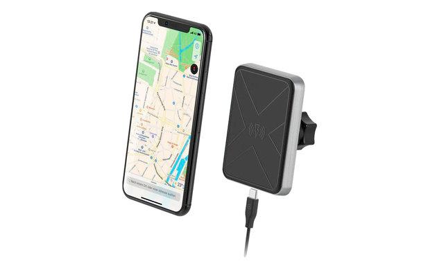 XLayer Magfix Smartphone Kfz-Ladegerät Wireless Charging Qi-Zertifiziert