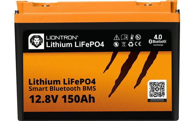 Liontron LiFeP04 Smart Bluetooth BMS Lithium Batterie 12,8 V / 150 Ah