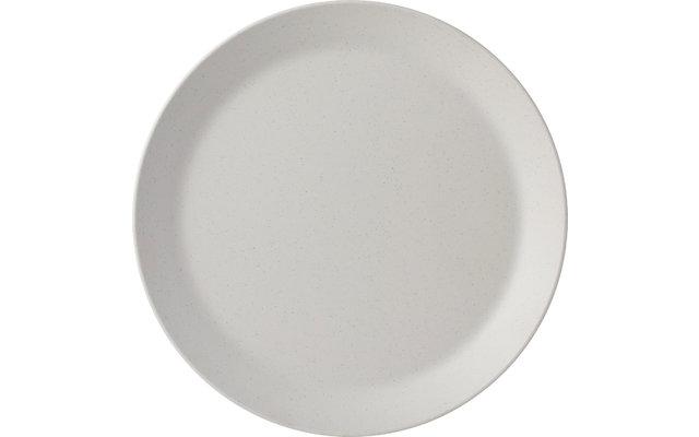 Mepal Bloom Melamin Frühstücksteller Pebble White