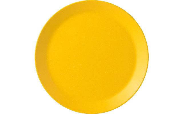 Mepal Bloom Melamin Frühstücksteller Pebble Yellow