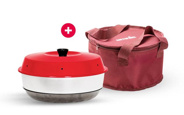 Omnia Campingbackofen Set inkl. Transporttasche
