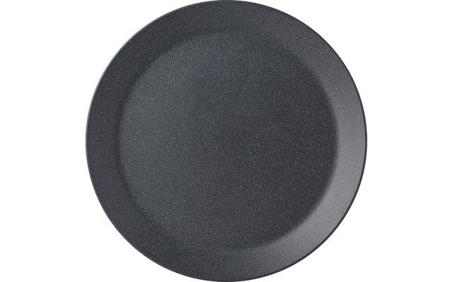 Mepal Bloom Melamin Frühstücksteller Pebble Black