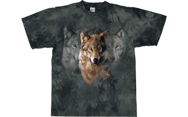 Harlequin Wolf Legens T-Shirt