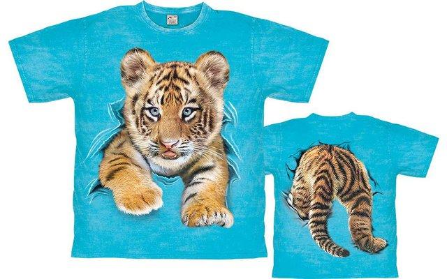 Harlequin Tiger Cub Kinder T-Shirt