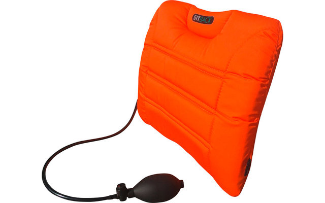 Sitback Air Living Fahrzeug Rückenkissen 31 x 27 cm Neon Orange