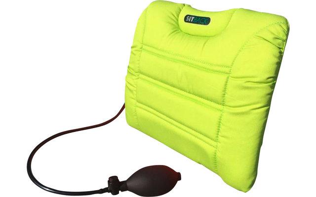 Sitback Air Living Fahrzeug Rückenkissen 31 x 27 cm Neon Grün