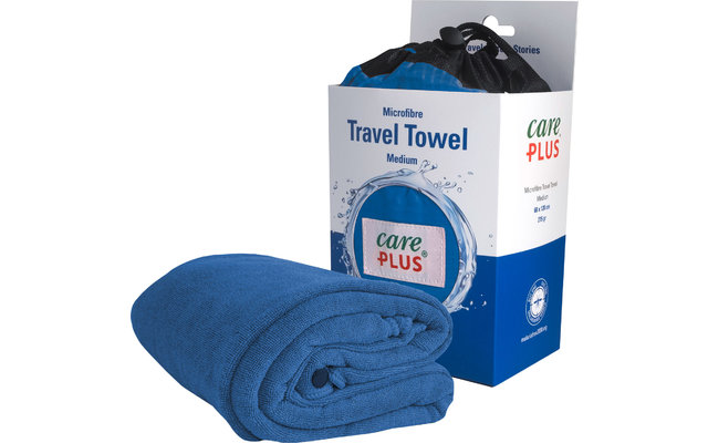 Care Plus Reise-Handtuch blau Gr. 2