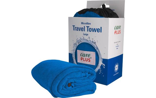 Care Plus Reise-Handtuch blau Gr. 3