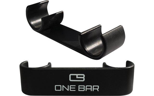 One Bar Verbindungsklammern Set für aufblasbare Sitzelemente 2 Stück