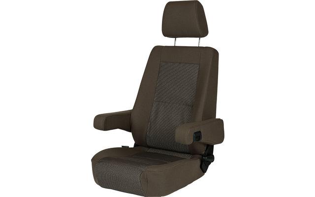 Sportscraft Sitz S6.1 Phoenix braun/beige mit Lordosenstütze