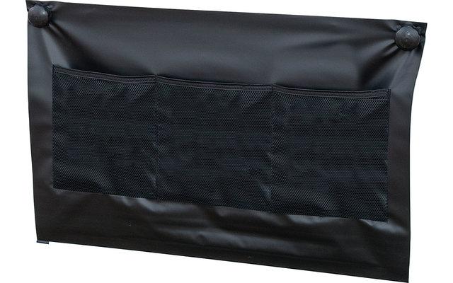 Dometic Single Radkastenabdeckung / Bodenschürze 75 x 50 cm schwarz