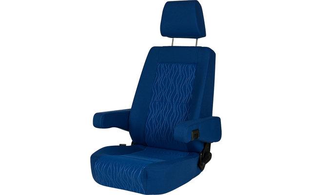 Sportscraft Sitz S6.1 Atlantik blau mit Lordosenstütze