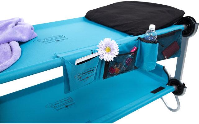 Disc-O-Bed Seitentasche / Organizer für  Kid-O-Bed Einzelbett blau