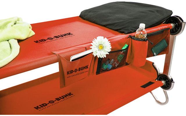 Disc-O-Bed Seitentasche / Organizer für  Kid-O-Bed Einzelbett rot