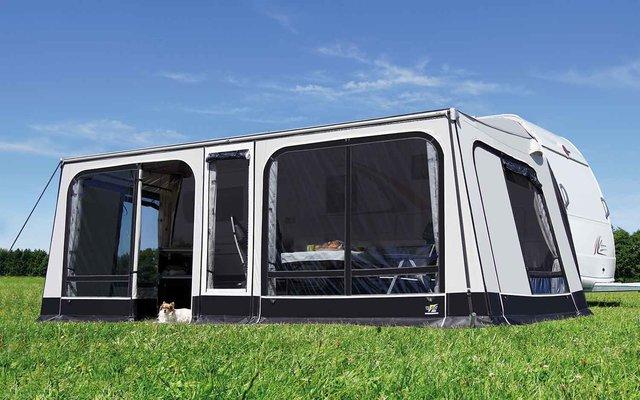 Wigo Sackmarkise mit Vorzelt Rolli Plus Ambiente Special 585 x 250 cm