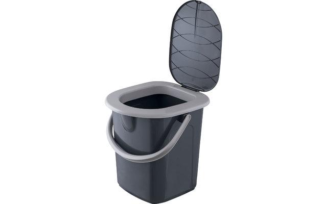 BranQ Tragbare Camping Toilette 22 L
