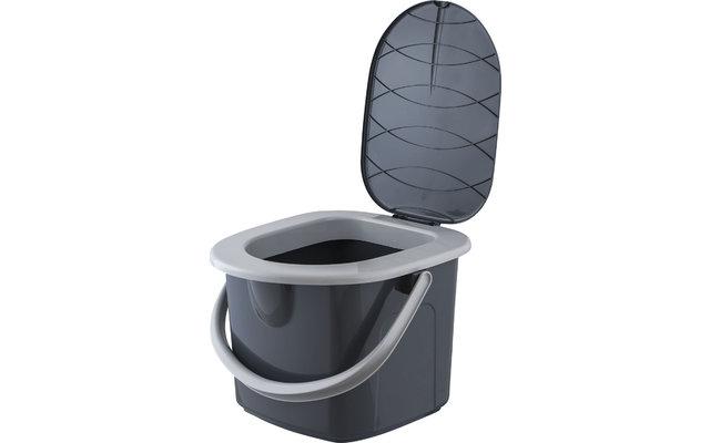 BranQ Tragbare Camping Toilette 15,5 Liter