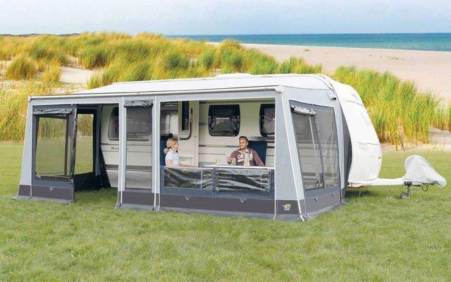 Wigo Sackmarkise mit Markisenzelt  Rolli Plus Lounge 250 Gr. 8b