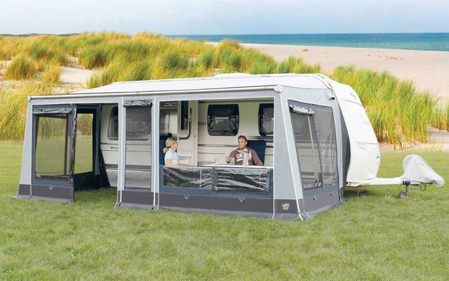 Wigo Sackmarkise mit Markisenzelt  Rolli Plus Lounge 300 Gr. 6