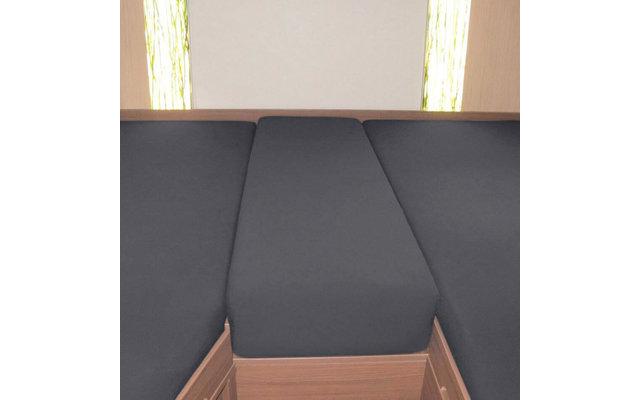 Spannbetttuch Set Heckbett 3-teilig Titanium