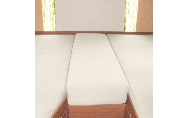 Spannbetttuch Set Heckbett 3-teilig Wollweiß