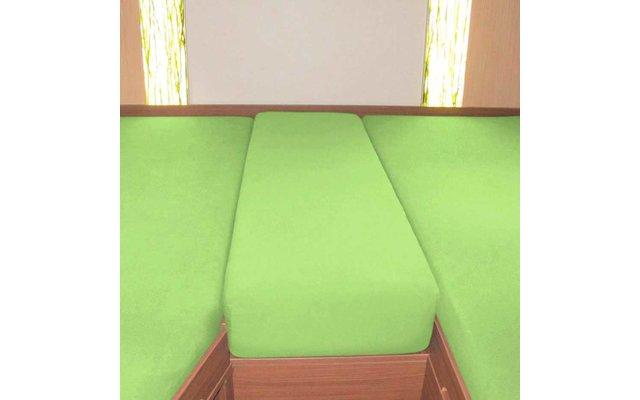 Spannbetttuch Set Heckbett 3-teilig Apfelgrün