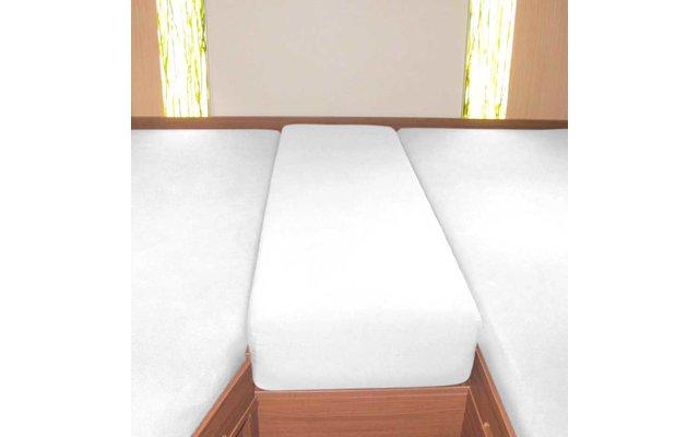 Spannbetttuch Set Heckbett 3-teilig Weiß