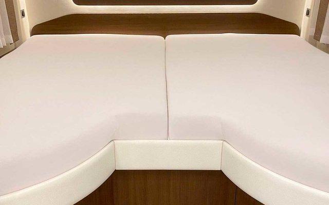Spannbetttuch Set 2-teilig mit Einschnitt Einstieg Sand