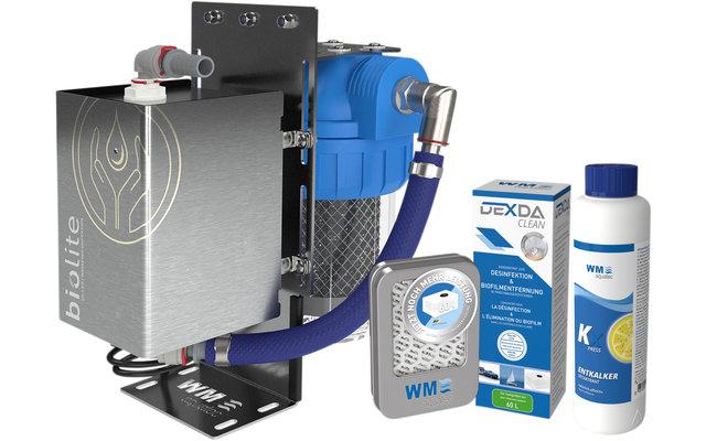 WM Aquatec Komplett-Lösung Wasserhygiene / Wasserversorgung Set 60 Liter inkl. Wasserdesinfektionseinheit