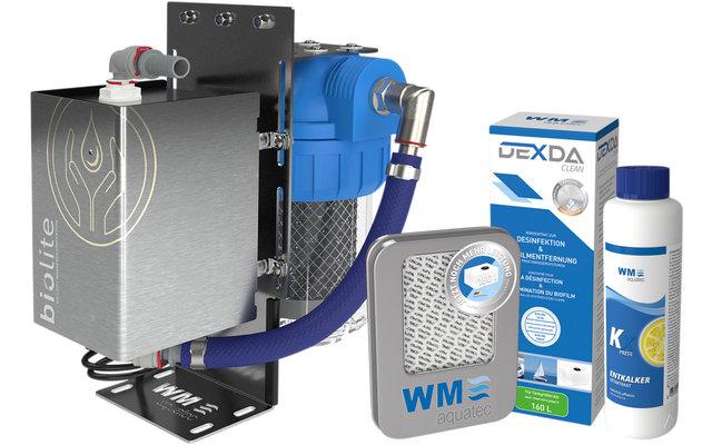 WM Aquatec Komplett-Lösung Wasserhygiene / Wasserversorgung Set 160 Liter inkl. Wasserdesinfektionseinheit