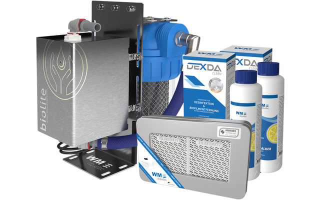 WM Aquatec Komplett-Lösung Wasserhygiene / Wasserversorgung Set 320 Liter inkl. Wasserdesinfektionseinheit
