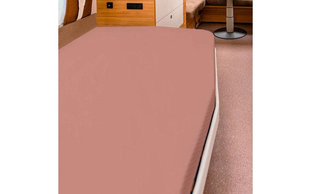 Spannbettlaken für französische Betten macciato
