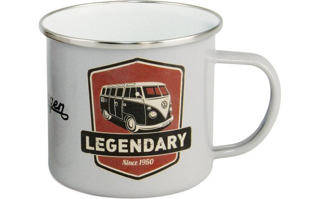 VW Collection T1 Bulli Emaille Tasse 500 ml Legendary