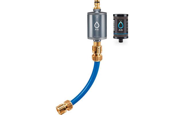 Alb Filter Mobil Active Trinkwasserfilter mit GEKA Anschluss-Set Titan