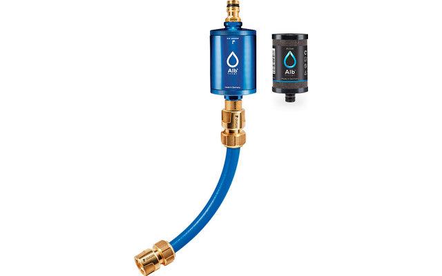 Alb Filter Mobil Active Trinkwasserfilter mit GEKA Anschluss-Set Blau